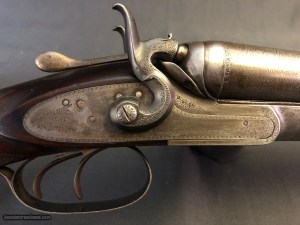 W. C. SCOTT 12GA SxS HAMMERGUN ANTIQUE: