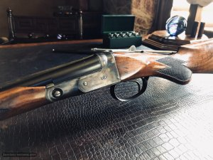 "Parker VHE .410 - 26"" - Ejectors - ""Remington Era"" - Beavertail - Single Trigger - ""Skeet In Skeet Out"" - 14 1/2 X 1 3/8 X 2 1/8 - 5 lbs 15 ozs"