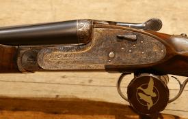 "20 ga AYA No.2 SxS Sidelock Shotgun, 27"" barrels"