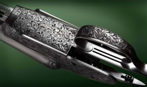 Phil Coggan's work on a Boss & Co SxS shotgun. Pic courtesy of Phil Coggan.
