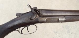 NO RESERVE, Excellent and Unique 12 gauge J&W Tolley English Hammergun