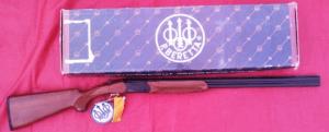 "Auction alert: Vintage 20g Beretta 686 Onyx, 28"" bbls, new in box"
