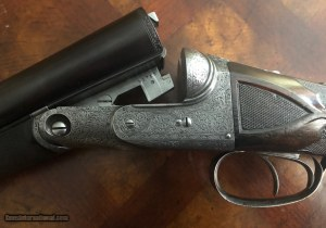 Extremely Rare 12g Parker AAHE SxS Pigeon gun with very important provenance: