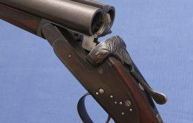 Emile Warnant - Liege Belgium - Excellent Quality - Sidelock Ejector SxS - 1925 Gun