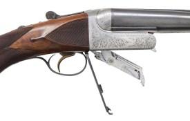 Auction alert: Westley Richards .470 NE Droplock double rifle...