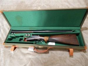 "GRIFFIN AND HOWE IMPORTED ARIETTA, 20 GA, SIDE BY SIDE, 26"" BARRELS, HAND DETACHABLE SIDE LOCKS"