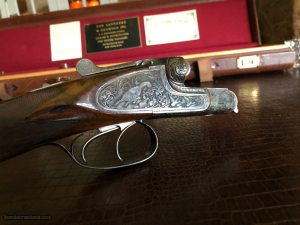 "Fr. Wilh. HEYM - 20ga - 28"" - Lightweight Game Gun - 2 3/4"" - IC/M - Double Trigger - 14 5/8"" x 1 1/2"" x 2 3/8"" - 5 lbs 12 ozs - SN: 6009 - Gorgeous!!"