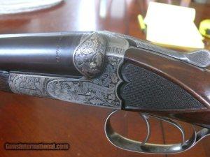 Pre-War JP Sauer Grade 40 SXS 12 ga