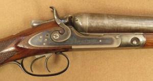 Parker Brothers Double Barrel Shotgun, 1883 Vintage, 12 Gauge