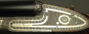 "PIOTTI 20 MODEL MONACO 2 BEST GUN- 27"" CHOPPER LUMP Bbls. w/ BRILEY CHOKES- 1983- OVERALL at 98%- NEAR EXHIBITION WOOD- 5 Lbs. 13 Oz.- GREAT ENGRAVING"