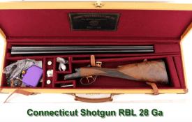 Connecticut Shotgun RBL 28 Ga in case for sale