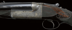 THE IMMORTAL ERNEST HEMINGWAY'S WESTLEY RICHARDS BEST QUALITY HAND DETACHABLE SINGLE TRIGGER EJECTOR DOUBLE RIFLE W/ORIGINAL CASE.