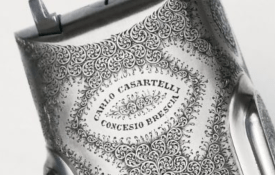 TERZI engraved Best Quality 20 GA Sidelock Ejector CARLO CASARTELLI
