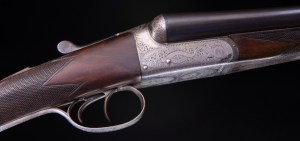 "R. Robinson of 7 Queen Street. Hull, England ~ A light and handy 2"" chambered 12 weighs 5 lb.s 4.5 oz"