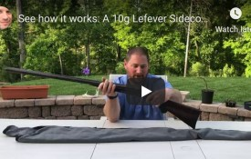 Ahhh...so this is how it works. A 10g Lefever sidecocker ...