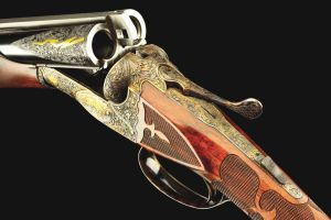 FRESH TO MARKET AND RECENTLY DISCOVERED TRULY INCREDIBLE NEAR MINT AND EXCEEDINGLY RARE 20g A.H. FOX FE-GRADE SXS SHOTGUN
