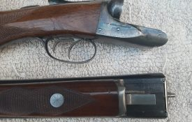 A. H. Fox/Savage Sterlingworth Deluxe Brush Model SxS Double Barrel American Shotgun