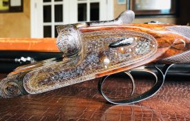 "Holland & Holland - Royal ""Pigeon"" Gun - 12ga - 30"" - 3"" - Full/Half (.019/.038) - 15"" x 1 1/2"" x 2 1/2"" - 7.7 lbs - March 17, 1958"