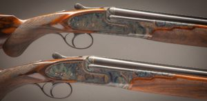 Piotti Boss style pre-owned pair of 28 gauge sidelock over & under's with 30 inch barrels