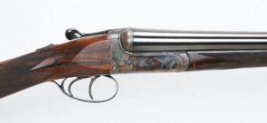 H&H Cavalier 12 ga. best boxlock SxS shotgun