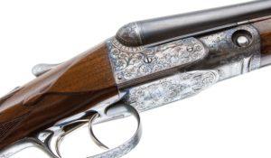 PARKER DHE SxS 16 GAUGE:REMINGTON GUN, O FRAME