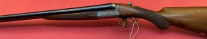 Lot 385: Webley & Scott Double 12 Ga Shotgun