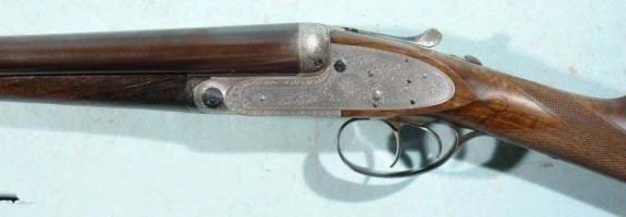 J. PURDEY & SONS EJECTOR SELF-OPENING SIDELOCK 12 GA. SHOTGUN MANUFACTURED IN 1895