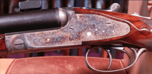 Rigby Rising Bite Sidelock SxS Double Rifle 9.3x74R
