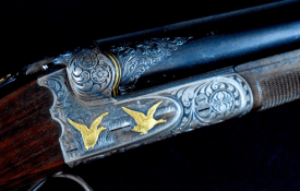 "Truly superb and rare Charles Daly ""Regent"" Diamond Quality 20 Bore shotgun in superb original condition"