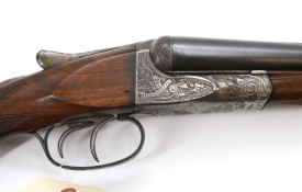 Lot #1096: A H Fox Gun Co. A Grade Side by Side Shotgun