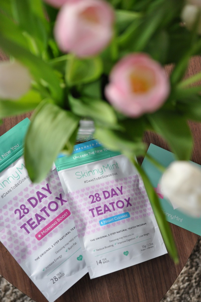 SkinnyMint teatox review on DogsandDresses.com