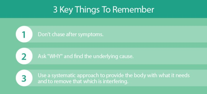 key things to remember
