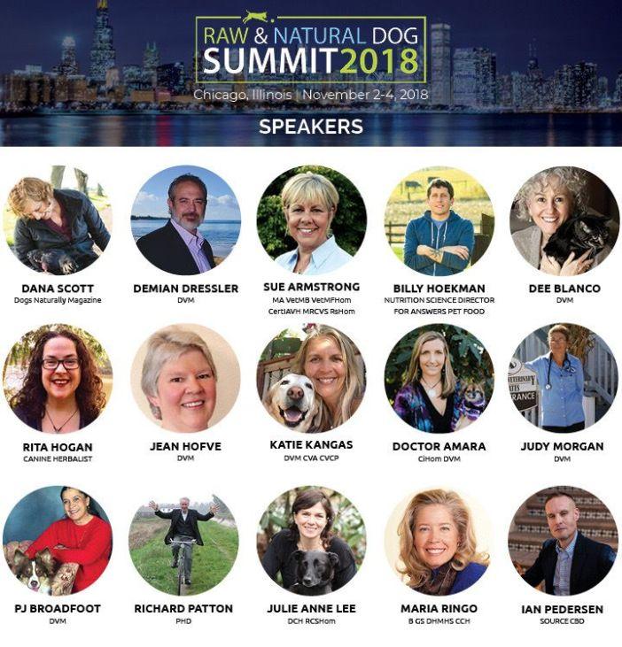 raw and natural dog summit