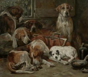 fine art dogs