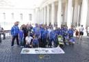 GLI AZZURRI DELL' AGILITY FISC INCONTRANO PAPA FRANCESCO