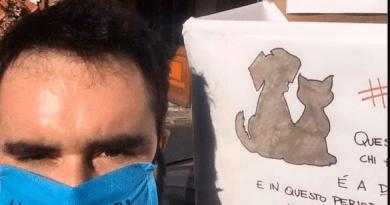 Moncalieri: volontari, commercianti e cinofili contro il coronavirus.