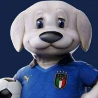 Il pastore maremmano-abruzzese mascotte della nazionale italiana