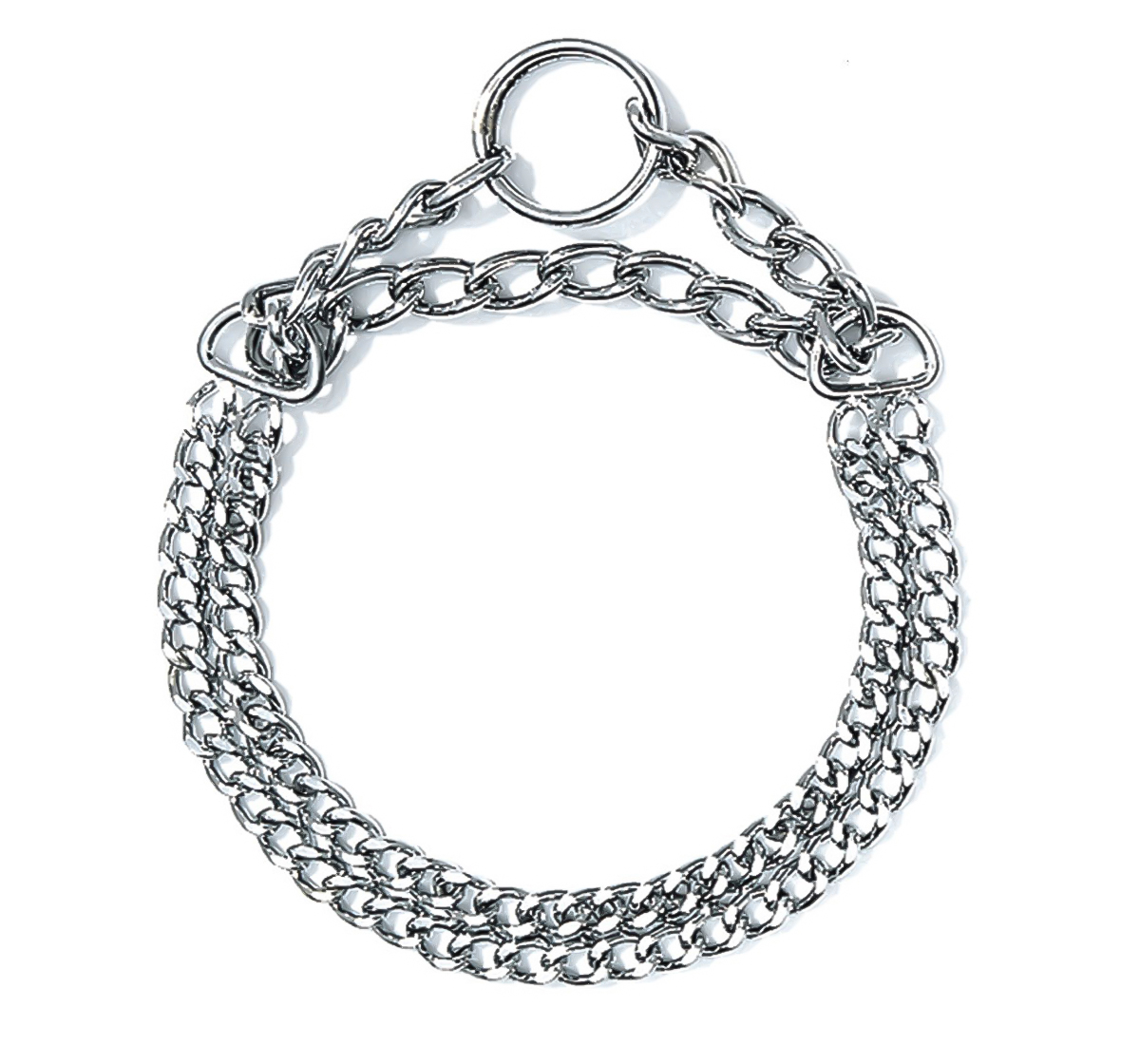 Double Choke Chain Collar Medium And Large Dogs 2 5 Mm 60
