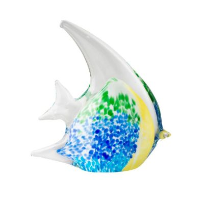 Art Glass Angel Fish