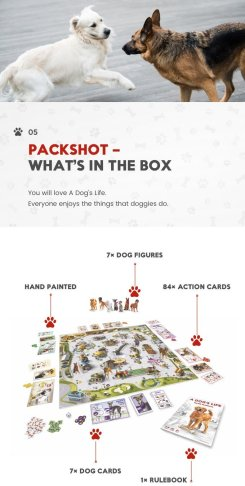 a dogs game box