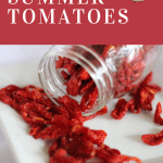 Tomatoes have many uses. Find out how to use and preserve your tomato harvest.