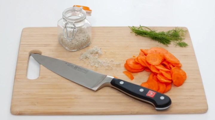 Lacto-fermented Carrots