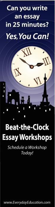 Beat the Clock Essay Workshop