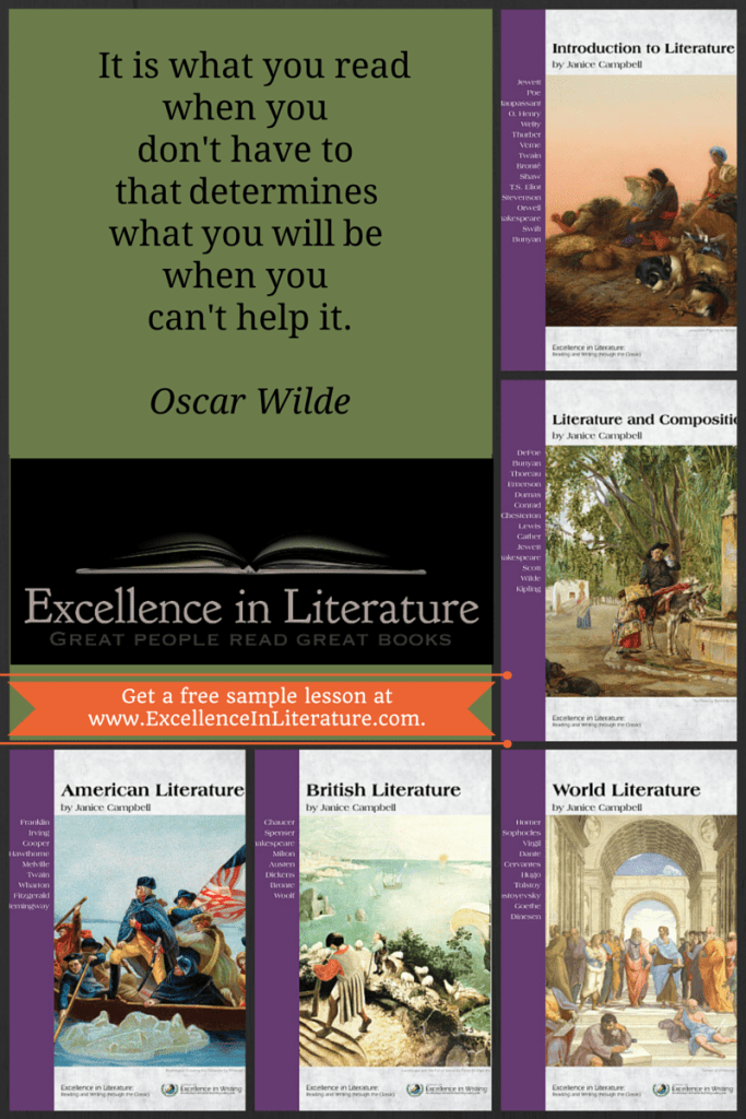 Excellence in Literature Curriculum