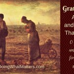 """Gratefulnesse""- A Poem of Thanksgiving & A Recipe"