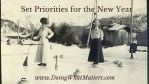 Set Priorities for the New Year
