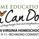 Virginia Home Education Month Display at Rockville Library
