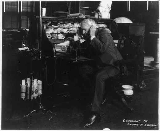 Thomas Edison attributed much of his success to his mother's teaching.