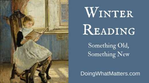 Winter reading is one of life's great pleasures.