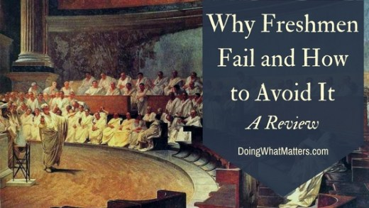 Why Freshmen Fail and How to Avoid It